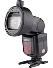 Godox S-R1 Round Head Adaptor for speedlights to Connect Magnetic Mount Accessories
