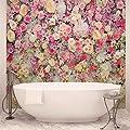 Schöne Blumen Pastellfarben Fototapete Wandbild Bild Tapete (3102FW) von Consalnet bei TapetenShop