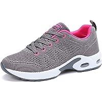 Donna Cuscino d'Aria Scarpe da Ginnastica Corsa Sportive Respirabile Mesh Running Fitness Sneakers Basse Basket Sport 34…