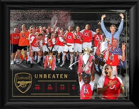 Arsenal Unbeaten Montage Framed Print by Arsenal F.C.