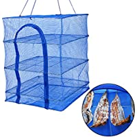 XYXtech The Rack Drying Net Hydroponic Grow Room Hanging Tent Herb Bud Plant Dry(50*50*65cm)