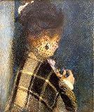 Das Museum Outlet–Junge Frau mit einem Schleier, 1875–77–Poster (mittel)