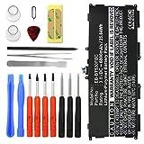 subtel® Premium Akku für Samsung Galaxy Tab 4 10.1 inkl. Werkzeug-Set (SM-T530/SM-T531/SM-T533/SM-T535) (6000mAh) EB-BT530FBU Ersatzakku Batterie Tabletakku