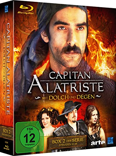 Capitan Alatriste - Mit Dolch und Degen - Box 2 (Folge 10-18) [Blu-ray]