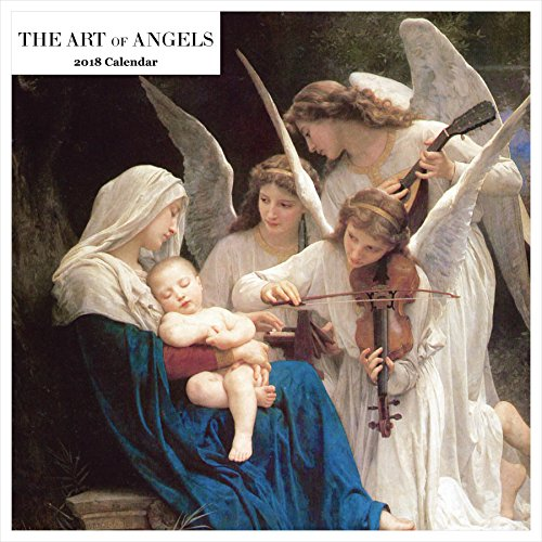 Retrospect Group the Art of Angels 2018 Square Calendar