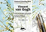 Van Gogh: Postcard Colouring Book / Postkarten - Malbuch