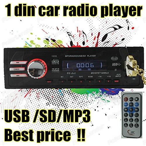 BoomBoost dans la radio de voiture de point de stationnement AudioSD / USB / AUX / FM stéréo pour la commande à distance iPod HeadUnit Mp3 Player