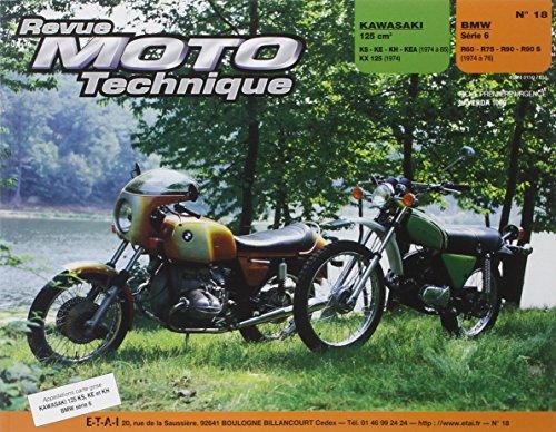 Revue Moto technique, numéro 18 : Kawasaki 125 cm³, BMW serie 6