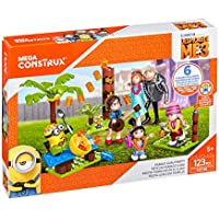 """Mega Bloks FHY38 Construx Despicable Me 3"""" Family Luau Party Toy"""