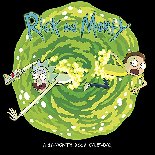 Rick and Morty 2018 Calendar