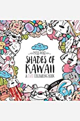 Shades of Kawaii: Volume 3: A Cute Colouring Book Paperback