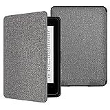 MoKo Kindle Paperwhite Case - Custodia Origami Ultra Sottile per Amazon Nuovo Kindle Paperwhite (Adatto Tutte le versioni 2012, 2013, 2015 e 2016), Denim Grey