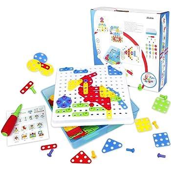 Chad Valley PlaySmart Create /& Screw Mosaic Building Kit
