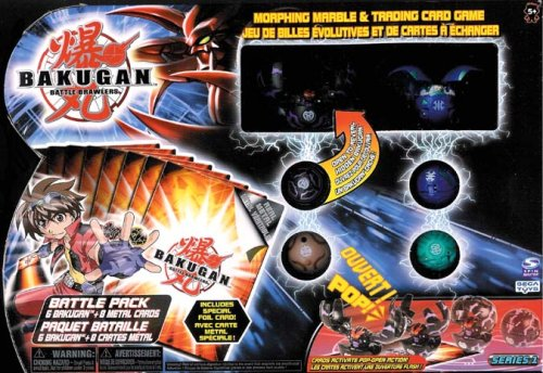 Bakugan Battle Brawlers 6 Pack (Random Colors)