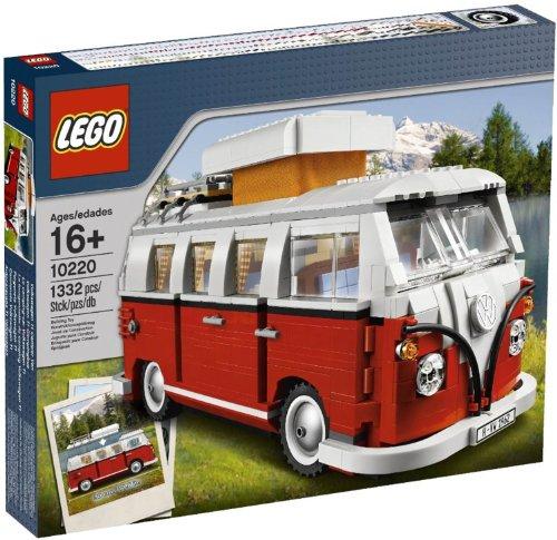 LEGO-Creator-10220-Building-Game-Volkswagen-T1-Camper-Van