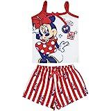 Cerdá Pijama de Minnie Mouse-Camiseta + Pantalon de Algodón Juego Unisex bebé