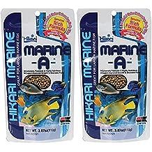 Hikari Marine A Pellets 110 g * Pack de dos * – burdeos