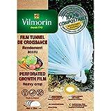 Vilmorin - Film de croissance perforé - farine de céréales - 2m x 4m 20µm