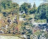 Il museo di uscita–Il Giardino A Fontenay, 1874–A3Poster
