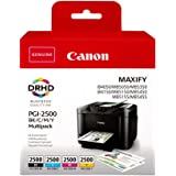 1x Satz Original Tintenpatrone Canon Pgi 1500 Für Canon Maxify Mb 2350 Bk Cy Ma Ye Bürobedarf Schreibwaren