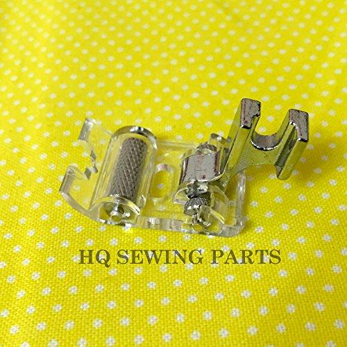 Domestique Machine à Coudre Pied à roulettes pour cuir, vinyle, PVC et plastique