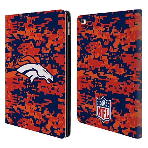 Head Case Designs Offizielle NFL Digitales Camouflage 2018/19 Denver Broncos Brieftasche Handyhülle aus Leder für iPad Air 2 (2014) - Bronco Leder