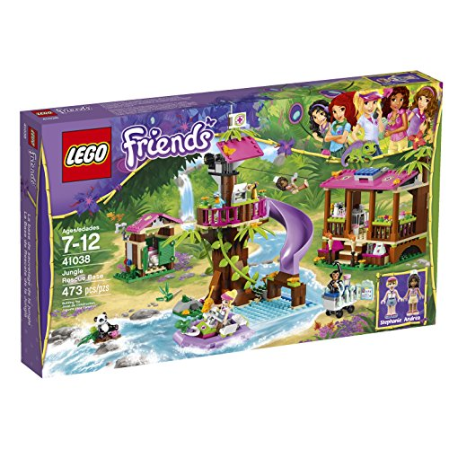 LEGO Friends Jungle Rescue Base 41038 Building Set by LEGO Friends (Lego Rescue Set)