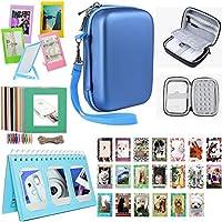 Katia HP Sprocket Accessoire pour HP Sprocket Portable Imprimante / HP X7N07A, Imprimante mobile Polaroid ZIP - Bleu
