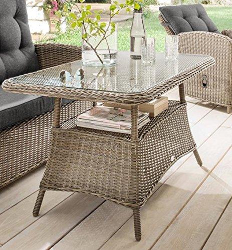 Destiny Loungetisch Merano Vintage Grau Tisch Gartentisch -