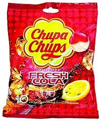 Chupa Chups Fresh Cola Lollipop, 120g