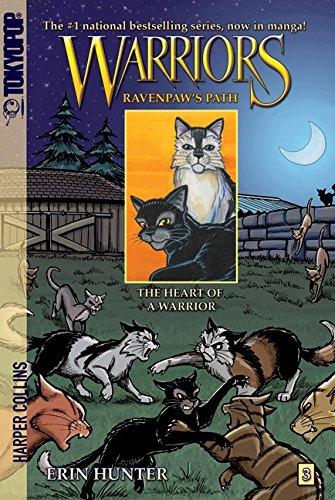 Warriors: Ravenpaw's Path #3: The Heart of a Warrior (Warriors Manga) por Erin Hunter