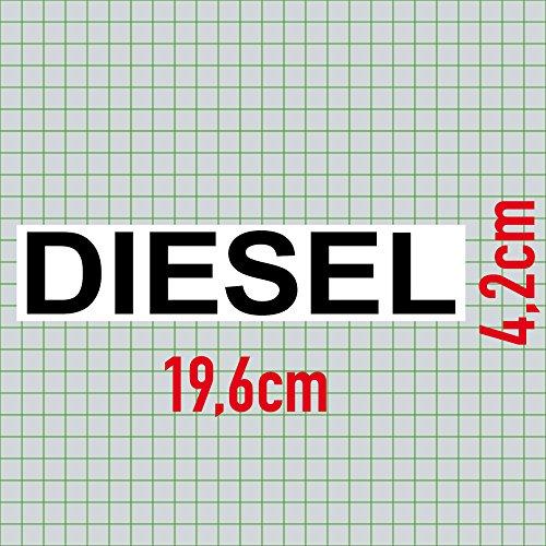 c6295bd090d543 2 Aufkleber Set Sticker 20cm Diesel + Benzin Kraftstoff Tank ...