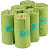 PetVogue Scented Pooper Scooper Bags Without Holder (6 Rolls) -90 Pieces