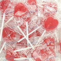 Mini Heart Lollipops - Candy with Stick - CERDÁN - Lecca lecca - 100 Unidades