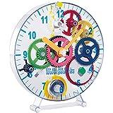 PEARL Kinderuhr: Meine erste Uhr: Pendeluhr-Bausatz für Kinder (Lernuhr)