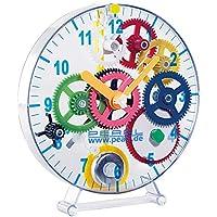 PEARL Pendeluhr selber Bauen: Meine erste Uhr: Pendeluhr-Bausatz für Kinder (Uhren selber Bauen Bausatz)