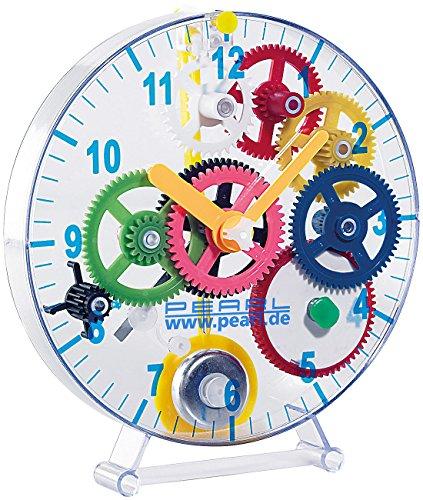 PEARL Kinderuhr: Meine erste Uhr: Pendeluhr-Bausatz für Kinder (Uhren selber Bauen Bausatz)