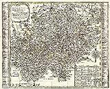 Historische Karte: Erzgebirge - Erzgebirgischer Kreis 1761 (Plano)
