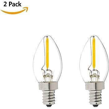 220V E12 2W 24LED 3014 SMD Reines//Warmes Weißes Hauptkühlschrank-Glühlampe-Lampe