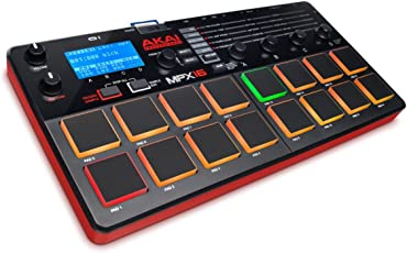 Akai Professional MPX16 Sample Recorder and Player with SD Card Slot