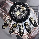 Bluelover 3D DIY steampunk mécanique composant engrenages nail art décoration conseils en métal accessoires de conception...