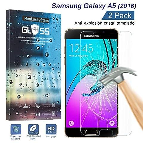 [2 Pièces] Verre Trempé Galaxy A5, HD Clair Ultra résistant