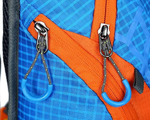 FFZH Bici casco rete zaino, uomini e donne che camminano borse, cintura cellulare Equitazione pacchetti , red red