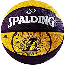 Spalding Basketball Team L.A. Lakers - Pelota de baloncesto, color multicolor, talla