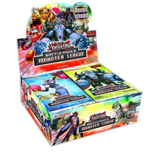 Yu Gi Oh! Monster League Battle Pack 3 Display (36 Booster) - Draft-booster
