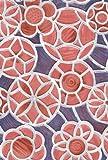 Alkor 280-3228 Fensterfolie, Vinyl, selbstklebend, Buntglas-Optik, 45x100cm (Meterware), Blau / Pink