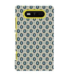Print Masti Designer Back Case Cover for Nokia Lumia 820 (abstract round vector wheel ethnic )