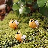 Bluelover Diy Miniatur Süße Biene Ornamente Topfpflanzen Pflanze Garten-Dekor