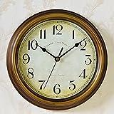 La sala del reloj de pared reloj de casa de aldea son dormitorio simple reloj ronda el reloj,R