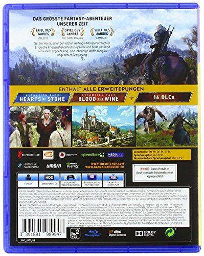 The Witcher 3: Wild Hunt – Game of the Year Edition – [PlayStation 4] - 2